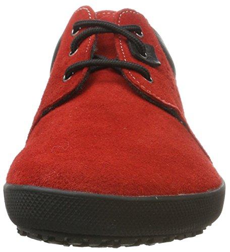 Sole Runner Kari, Scarpe Stringate Derby Unisex-Adulto rosso (rosso)