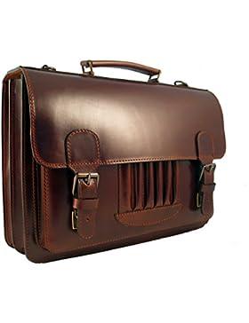 Vintage Aktentasche Leder im 50er Jahre Look v. Shalimar
