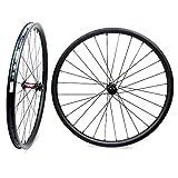 Yuanan Cross Country MTB Laufradsatz 1350 g 29er XC Wheel 35 mm Breite Carbon Felge schlauchlos fertig mit DT 240 Nabe