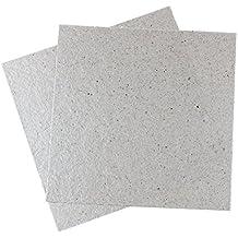"""TOOGOO(R) 2 Pcs 5.1"""" x 5.1"""" Plaque de mica/ecaille de mica pour micro-ondes piece de reparation"""