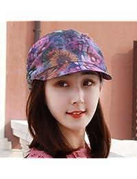 RangYR Sombrero De Mujer Sra. Cap Gorra De Gorra Plana Gorra De Sol Sombrero  De Sol Sombrero De Sol Gorro De… 8b6c0f2af8f9