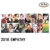 Yovvin 2018 NCT EMPATHY Mini Fotokarten/Photocards mit Band Members Signatur und Motto | Taeil, Johnny, TaeYong, Yuta, Kun, DoYoung, JaeHyun, WinWin, Jungwoo, Lucas, Mark, RenJun, Jeno, HaeChan, JaeMin, Chenle, Jisung (15 Pack)