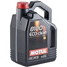 Motul 102889 8100 Eco-clean SAE 0W30 – Aceite para el Motor , 5 litros