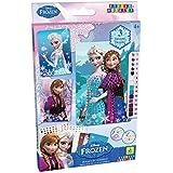 Orb Factory ORB11446 - Loisirs Créatifs - Disney Reine des Neiges, 3 Projets Anna et Elsa - Sticky Mosaiques Autocollantes aux Numéros