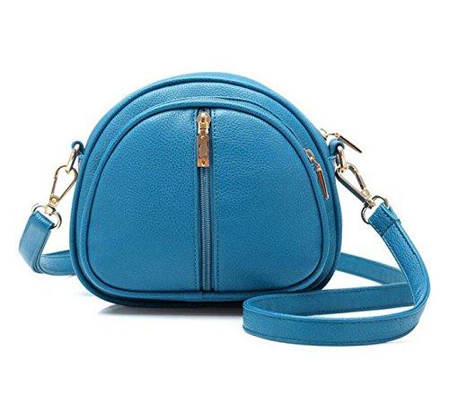 Molla Borse Diagonale Piccola Tracolla Femmina Diagonale Multiuso Pacchetto Blue