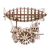 ZLD 3D-Puzzle-Luftschiff-Modell, Spielzeug, Holzhandwerk, Uhrwerk, Holz Rätsel, Handgemachte Haus Geschenke, Holzgetriebe, Dekorationen