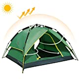 Camel Pop Up Tent Waterpoof Camping Tent 2-3 Man Dome Tents Automatic Family Sun Tent
