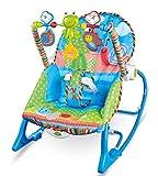 MSSugar Silla Mecedora para bebés Vibración de música multifunción Apaciguar Cama para la Cama Juguete para artefactos somnoliento Silla para hamacas para bebés mecedoras para bebés y niños pequeños