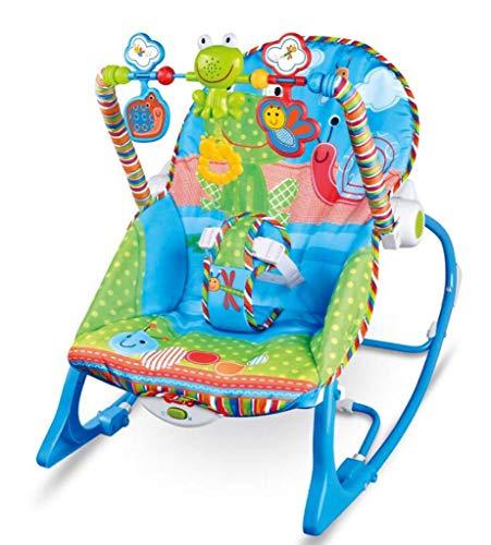 ultifunktions Musik Vibration Beschwichtigen Wiege Bett Schläfrig Artefakt Spielzeug Infant-to-Toddler Rocker Baby Türsteher Stuhl ()