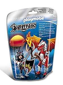 Playmobil - 5463 - Figurine - Dragon De Feu Avec Samouraï