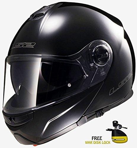 Casco de la motocicleta LS2 FF370 Fácil Motocicleta front flip Racing