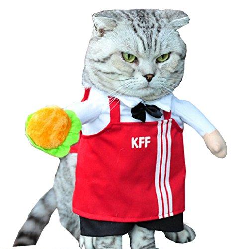 Inception Pro Infinite Kostüm - Disguise - Fast Food - Mac Donalds cat (S) (Mac Pro Kostüm)