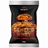 Genetic Whey, 100% Protein - Creatin Shake, 500g Beutel, mit Taurin, L-Lysin, Hardgainer /...