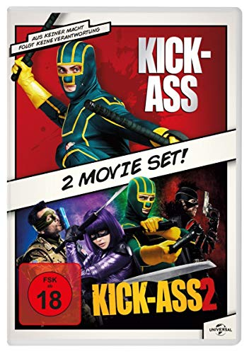 Kick-Ass 1 & 2 [2 DVDs]