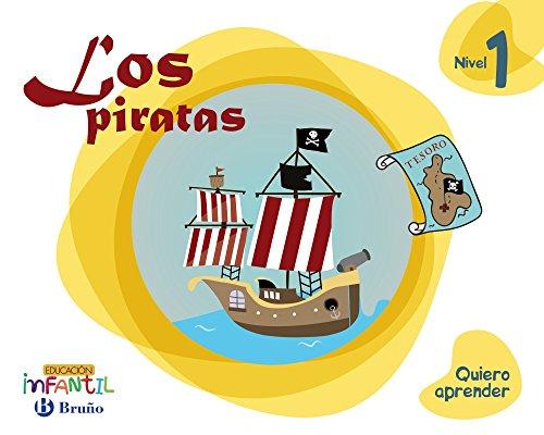 Quiero aprender Nivel 1 Los piratas - 9788469613719
