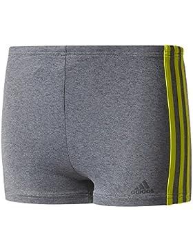 adidas Jungen Infinitex 3-Streifen Melange Boxer Badehose