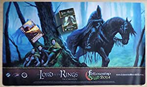 The Lord of the Rings: Fellowship Event Kit Set - Fog on the Barrow-downs Scenario Pack - Playmat - Aragorn alternate Art - English Living Card Game LCG