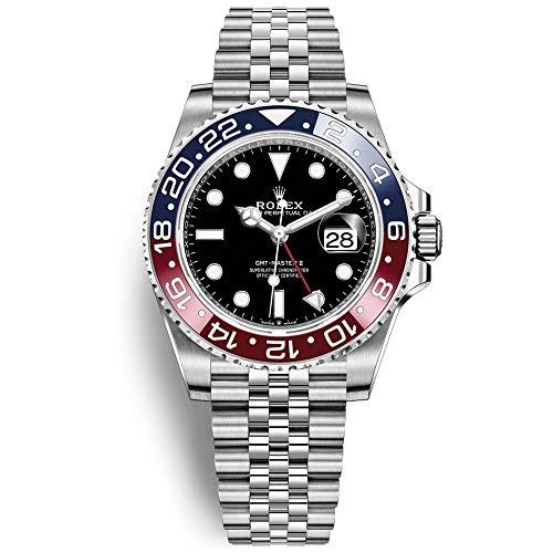Rolex GMT-Master II 126710 BKSJ Pepsi Bezel Steel Automatic Mens Watch