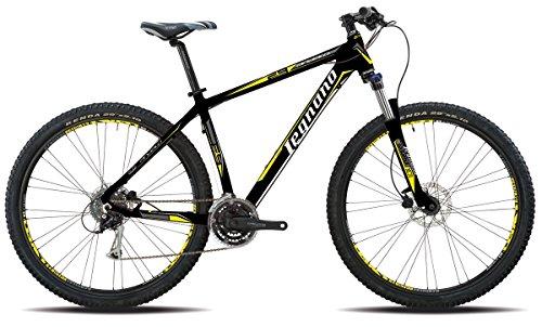 Legnano bicicletta 600 andalo 29' disco 24v taglia 48 nero (MTB Ammortizzate) / bicycle 600 andalo 29' disco 24s size 48 black (MTB Front suspension)