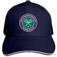 Huseki 2016 Wimbledon Tennis Championships Flex Baseball Cap Black Navy