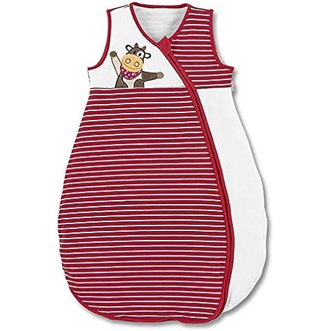 Sterntaler - Sacco nanna con applicazione a forma di mucca, in jersey