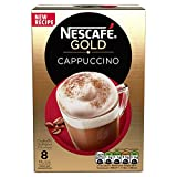 NESCAFÉ Gold Cappuccino Original, 8 sachets, 136g (Pack...