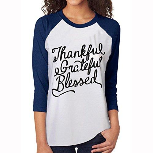 Manadlian Mode Frau Weiß Tee Brief Pfeil Gedruckt Dreiviertelarm Spleißen Baumwolle T-Shirt (L, Weiß) (Pfeil Adidas)