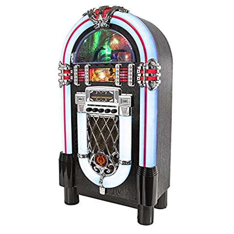 Itek I60013 Multi-Functional Bluetooth Jukebox with CD Player and AM/FM Radio Function