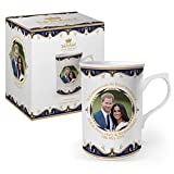 Royal Heritage H.R.H Harry and Meghan Markle Wedding Commemorative Mug, Fine China, Multi-Colour, 10.5 x 7.5 x 10 cm from Royal Heritage