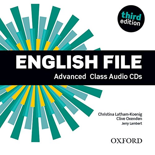 ENGLISH FILE ADV CLASS AUDIO CD (5) 3ED (English File Third Edition) - 9780194502528 por Clive Oxenden