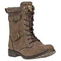 Rocket Dog Billie Boots Brown