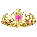 Das beste Unisex Tiara für Abschlussbälle Festzüge Princess Party Krone Geburtstag-Interstellar Himmel (heiß rosa)