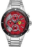 Orologio Ferrari Crono RedRev Evo Scuderia Ferrari Acciaio Rosso 0830269