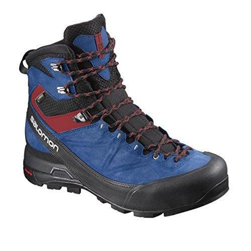 Salomon L39089600, Scarpe da Escursionismo Uomo bk/gent/bl