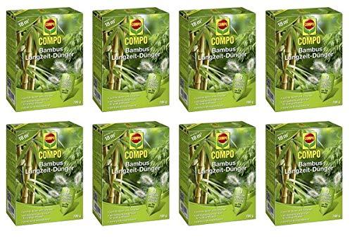 COMPO Bambus Langzeit-Dünger 5,6 kg - Hochwertiger Spezial Dünger für Bambus, Zier-& Kübelgräsern