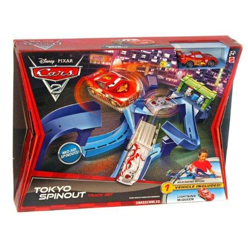 Mattel - Cars 2 - V3615 - Circuits - Piste Tokyo Super Cascades