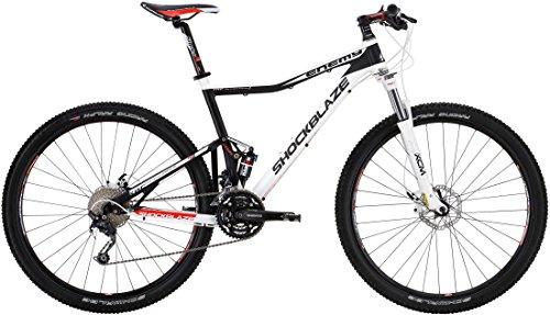 SHOCKBLAZE 29 Zoll Fully Mountainbike 30 Gang Enemy Pro, Rahmengröße:51cm
