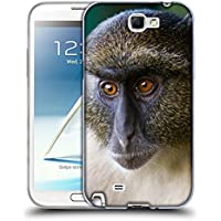 Super Galaxy Soft Flexible TPU Slim Fit Cover Case // V00003899 sykes monkey mount kenya // Samsung Galaxy Note 2 II N7100
