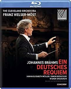 Johannes Brahms - Ein deutsches Requiem [Blu-ray]