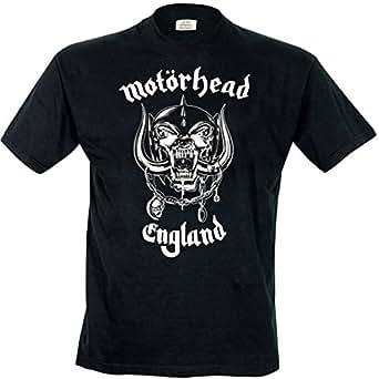 Rock Off - T-shirt Homme Motorhead England - Noir (Black) - Small