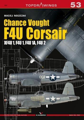 Chance Vought F4u Corsair (Top Drawings) por Maciej Noszczak