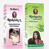 Dr.Rao's Combo Of Keshovin-L(Anti-Lice H...