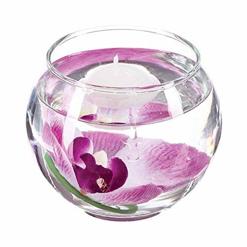 Newsbenessere.com 51aZS7mJwVL Composizione floreale con candela a sospensione, motivo: orchidea, colore: rosa