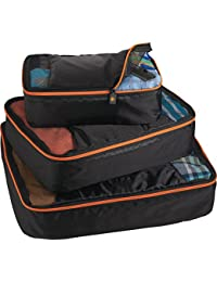 BRIGHTtravels Set Of 3 Packing Cubes /New AR Training Gym Running Sport Duffel Bag Camping Travel One Shoulder...