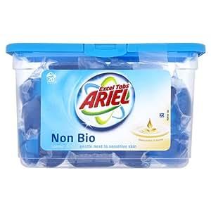 Ariel Excel Senstive Non Bio Liquitabs 20 Washes (Pack of 3)