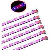 WYZM 6 Stück 8Watt IP68 Wasserdicht 500mm LED Grow Lampe Streifen for Indoor-Anbau und Aussaat