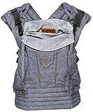 ByKay Deluxe 4Position Baby Carrier, dark jeans denim