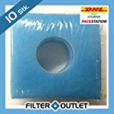 10x Filter für Limodor Limot Lüfter F LF ELF 226x226mm - Filtereinsatz - Ersatzfilter - 00010