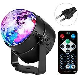 Luces Discoteca, 7 Colores RGB LED
