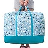 Dexinx Grande Portatile Imballaggio Cubi di Viaggio Organizzatori di Bagagli Abbigliamento di Archiviazione Blu 003